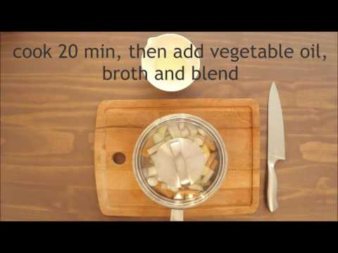 Vegetable soup - baby food 4+ month - homemade easy recipe