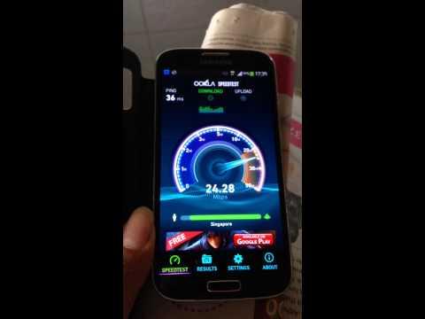 Singtel 4G prepaid test 4