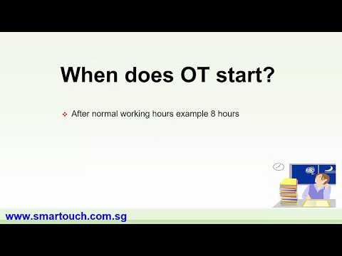 Payroll Malaysia : Normal Working Hours and Days Normal Hours and OT (Maybank, CIMB, PBB, Payslip)