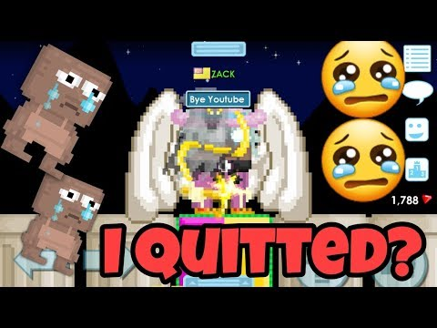 I QUITTED GT !!!!? | Growtopia