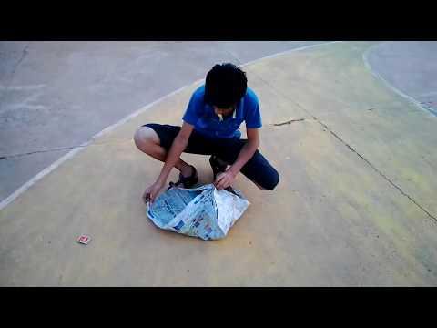 How to make a hot air ballon do at home