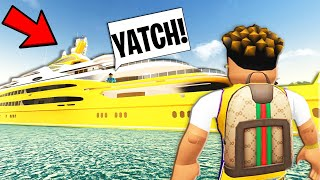 I DARED The RICHEST YOUTUBER In DRIVING EMPIRE To Buy A YATCH!