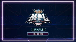 LIVE: Mobile Legends: Bang Bang Professional League-Philippines Season 5 | Finals | May 31, 2020
