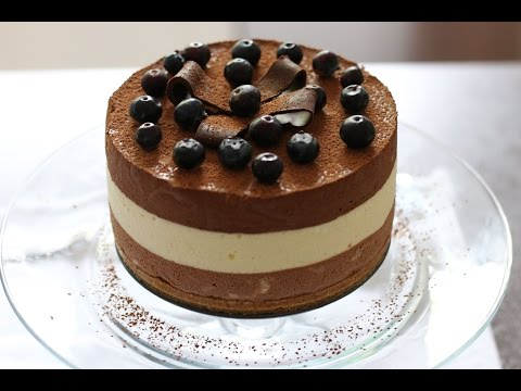 TRIPLE LAYER CHOCOLATE MOUSSE RECIPE