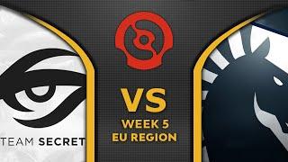 SECRET vs LIQUID - RAMPAGE! GAME OF THE DAY - DPC 2021 EU SEASON 2 Dota 2 Highlights