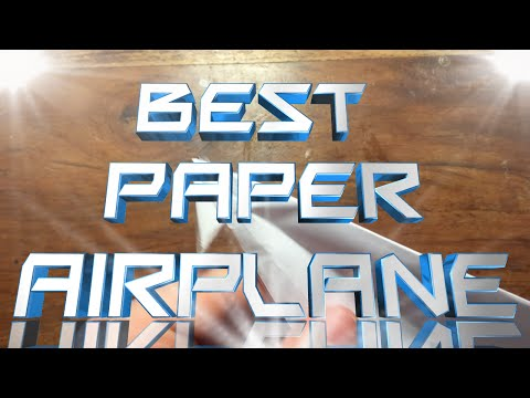 How to Make a Paper Airplane - (Best Ways + Tips and Tricks)