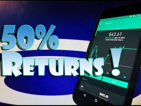 Robinhood APP - My BEST Stock PICKS - 30-50% RETURNS!!