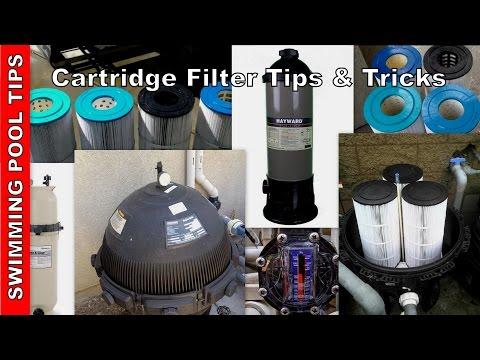 Cartridge Filter Tips, Tricks & Troubleshooting