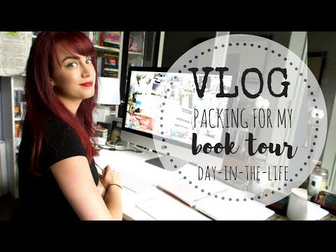 VLOG | A New Endeavor | Packing for my Book Tour