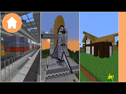 Minecraft: 10 Things to Build (PC/PE/Xbox)