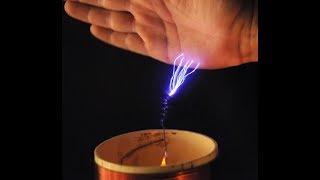 Construye tu BOBINA DE TESLA Super Potente - Tesla Coil