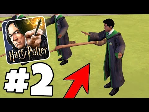 FIRST QUIDDITCH BROOM RIDE GOES WRONG! - Harry Potter: Hogwarts Mystery Part 2