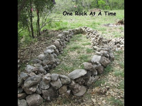 Rock Wall Raised Garden Bed - Part 1