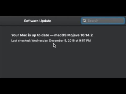How to Update to macOS Mojave 10.14.2