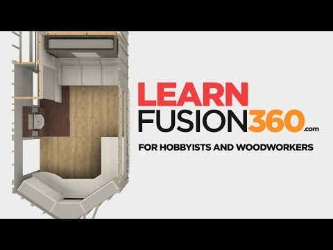 It's Finally Ready!  Fusion 360 For Hobbyists and Woodworkers Course