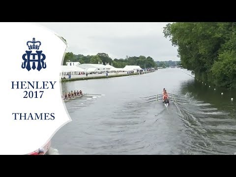 London 'B' v Nottingham & Union - Thames | Henley 2017 Day 1