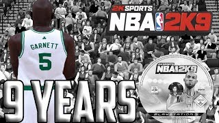 Nba 2k9 9 Years Later...
