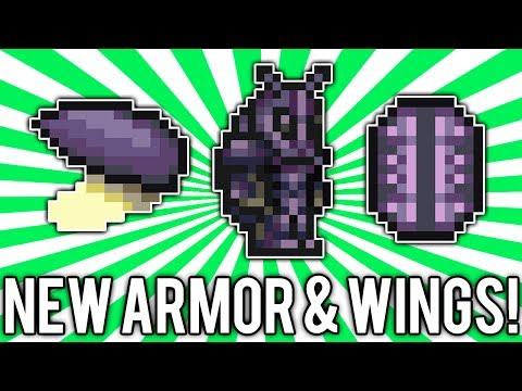 Terraria 1.2.3: Beetle Armor & Wings! (NEW Best Melee Armor!) @demizegg