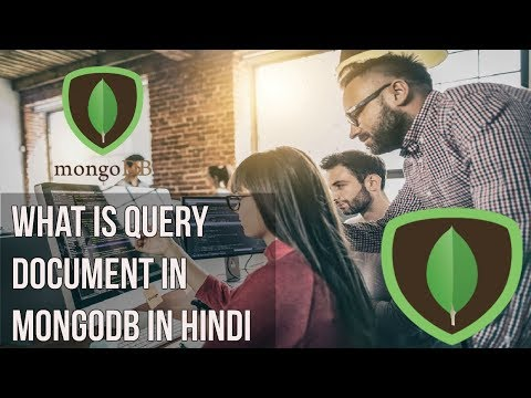 Learn mongodb in Hindi | What is query document in mongodb in Hindi
