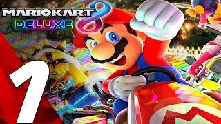 Mario Kart 8 Deluxe - Gameplay Walkthrough Part 1 - Prologue [1080p 60fps] Switch
