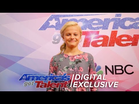 Darci Lynne Helps Give Priceless Audition Tips - America's Got Talent 2017