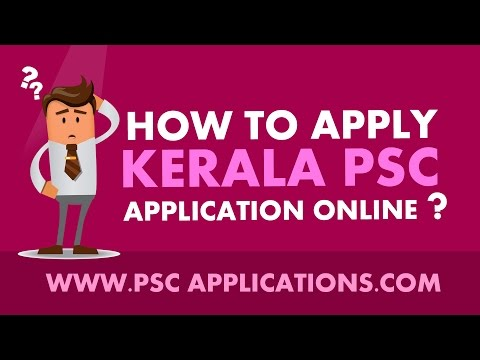 How To Apply Kerala PSC Applications Online