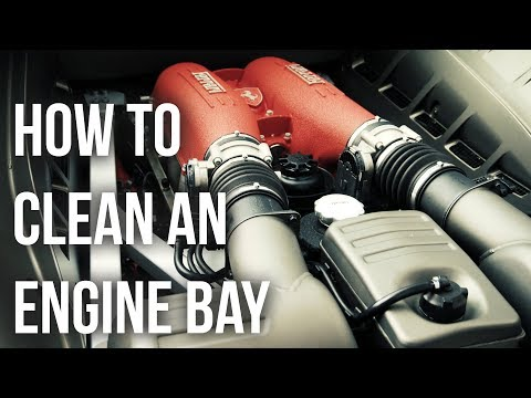 How to Clean a Car Engine Bay