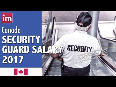 Security Guard Salary in Canada | Jobs in Canada (2017)