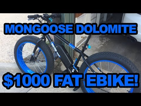 BBS02 Powered Mongoose Dolomite: Sub 1000 Dollar Fat Tire eBike!