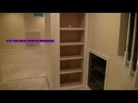 Built-in's Under Basement Steps (More Basement Ideas)
