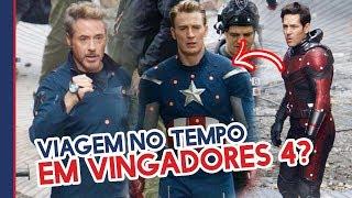 VIAGEM NO TEMPO EM VINGADORES 4?!