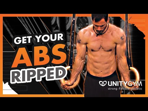 Get Ripped, Strong Abs | Gymnastics Exercise | FMS Straight Leg Half Hanging Leg Lift TUTORIAL