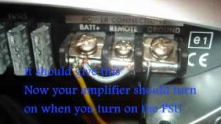 Can you hook up a car amp in your house