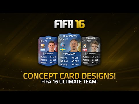POTENTIAL FIFA 16 ULTIMATE TEAM CARD DESIGNS! | FIFA 16