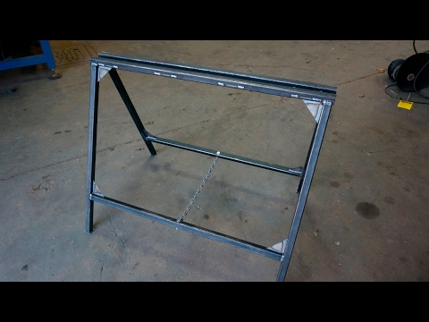 Sawhorse Welded Folding