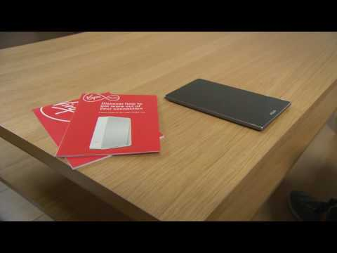 How to connect to Virgin Media Wi-Fi with an Android phone.