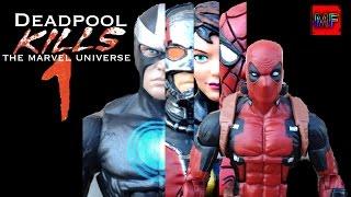 Deadpool Kills The Marvel Universe Stop Motion Film Part 1