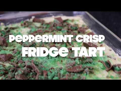 hAnger Pains || PEPPERMINT CRISP FRIDGE TART Recipe (Kryptonite)