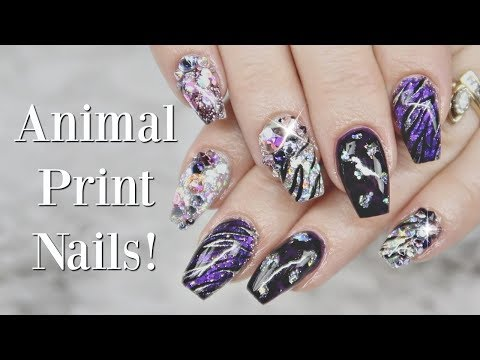 Animal Print Nail Art! | Gel Nail Tutorial