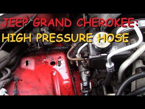 Jeep Grand Cherokee 4.0 - High Pressure Power Steering Hose