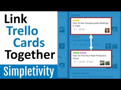 How to Connect Trello Cards Together 🔗