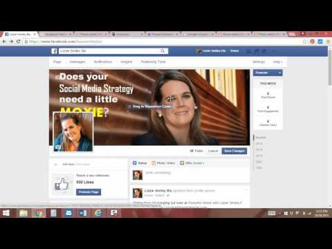 How to update your Facebook Cover Photo