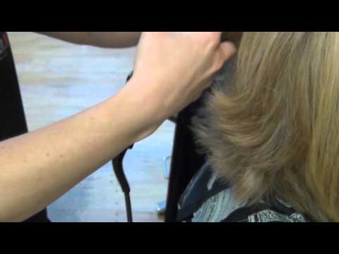 Flipping Hair with a Flat Iron- Carrie & Company, Sturbridge, MA