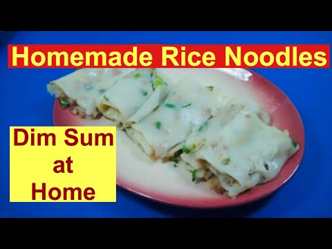 Homemade Rice Noodle (Ho Fun) Recipe