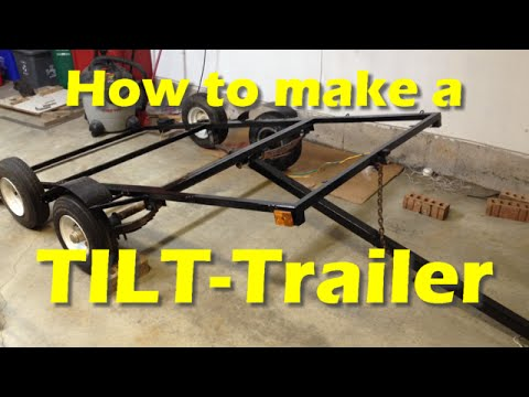 Making a DIY TILT-Trailer (Part 1)