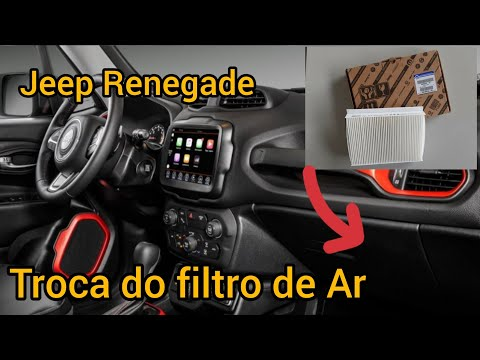 Jeep Renegade / Ar condicionado como fazer a  troca de filtro