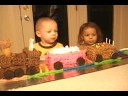 Parkers 3rd Birthday Train Cake