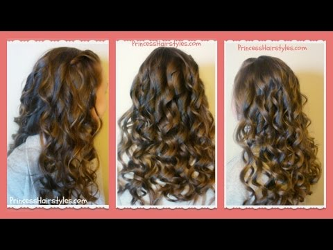 How To Create Beautiful Curling Wand Curls