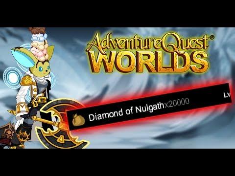 =AQW= HOW TO GET FAST DIAMOND OF NULGATH (2017)