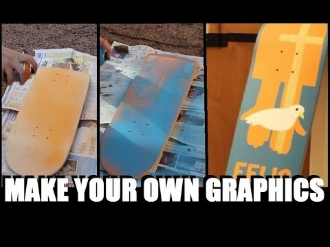 How to Make your Own Skateboard Graphics